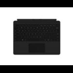 Microsoft Surface Pro X Keyboard toetsenbord voor mobiel apparaat QWERTY Engels Zwart