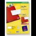 Avery L7551-25 printer label Transparent