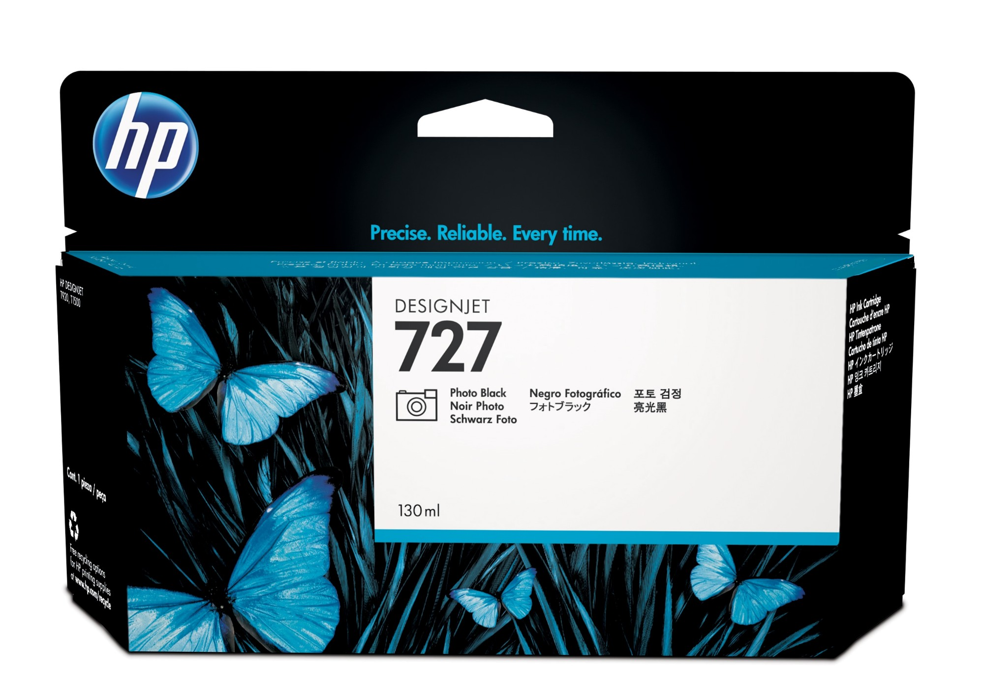 HP 727 Original Foto negro 1 pieza(s)