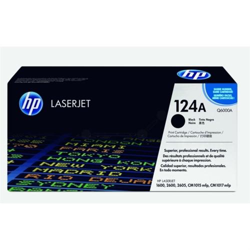 HP Toner Black 2500sheets for Color LaserJet - Q6000A