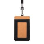 Moshi Badge Holder - 7W x 11.3H x 0.5D  Onyx Black