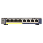 Netgear GS108PE Managed network switch Gigabit Ethernet (10/100/1000) Power over Ethernet (PoE) Black