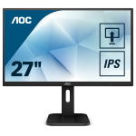 "AOC Pro-line Q27P1 computer monitor 68.6 cm (27"") 2560 x 1440 pixels Wide Quad HD LED Flat Matt Black"