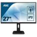 "AOC Pro-line Q27P1 pantalla para PC 68,6 cm (27"") 2560 x 1440 Pixeles Wide Quad HD LED Plana Mate Negro"
