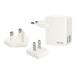 Leitz Complete Traveller USB Wall Dual Charger