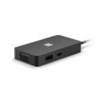 Microsoft 1E4-00001 interface hub USB 3.2 Gen 2 (3.1 Gen 2) Type-C 10000 Mbit/s Black