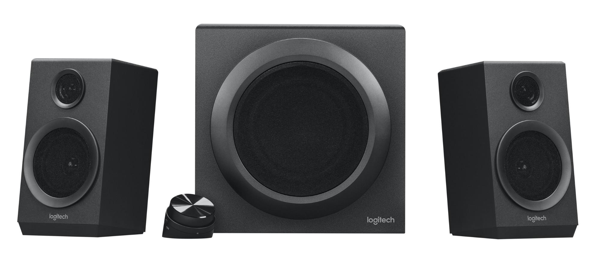 Logitech Z333 2.1channels 80W Black speaker set