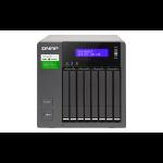 QNAP TVS-882ST3 NAS Tower Ethernet LAN Black