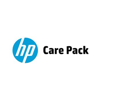 Hewlett Packard Enterprise U3RA9E servicio de soporte IT