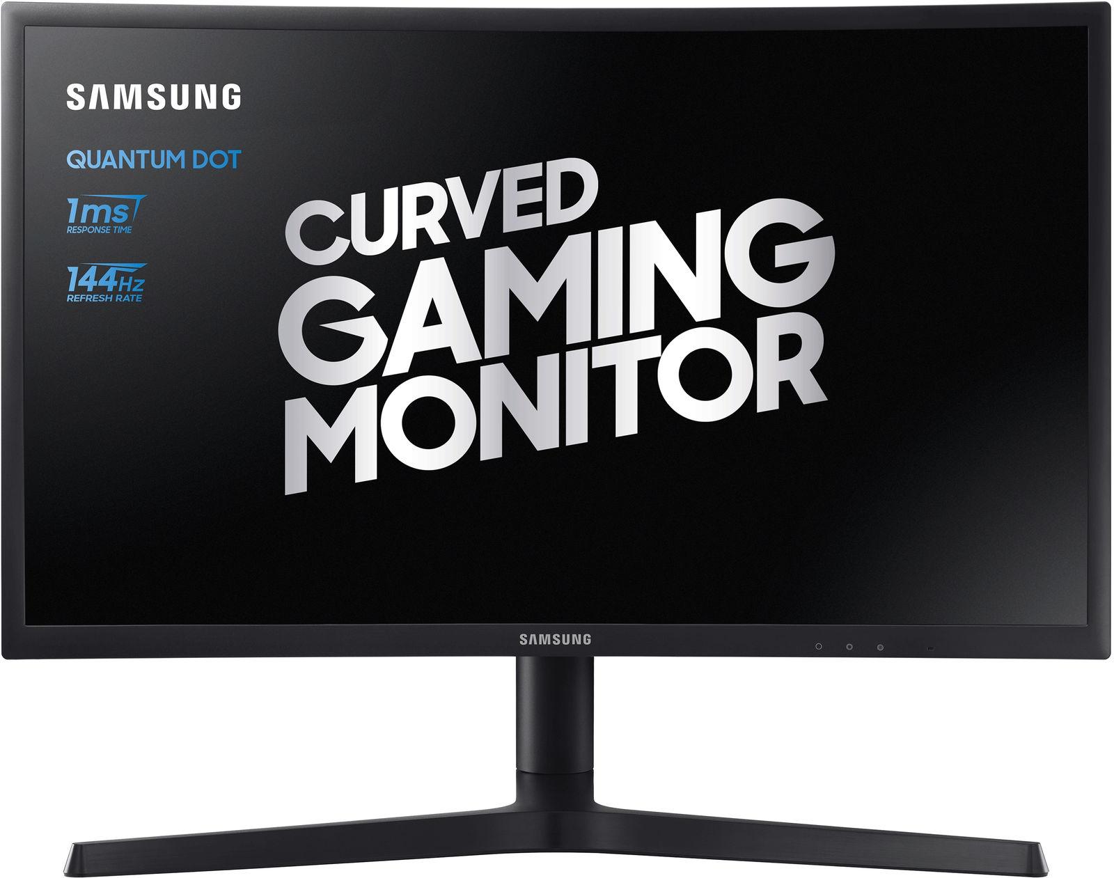"Samsung C24FG73FQU LED display 59.7 cm (23.5"") Full HD QLED Curved Black"
