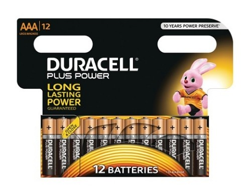 Duracell MN2400B12 household battery Single-use battery AAA Alkaline 1.5 V
