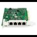 HP NC150T PCI 4-port Gigabit Combo Switch Adapter