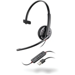 Plantronics Blackwire C310 Monaural Head-band Black headset