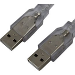 Cabac 2m USB 2.0 Cable A(M) to A(M) Use to Connect Host to Host LS