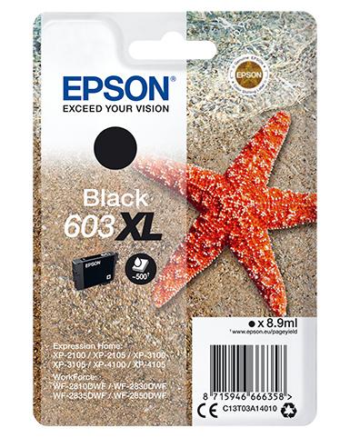 Epson Singlepack Black 603XL Ink