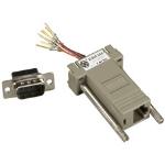 Black Box FA755 cable interface/gender adapter RJ-45 DB9 Grey