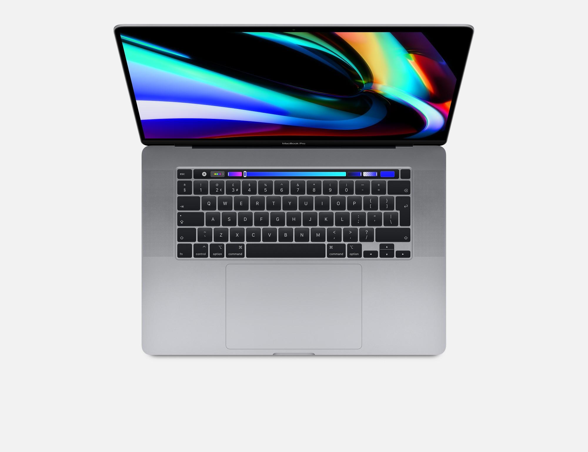 """Apple MacBook Pro Notebook Grey 40.6 cm (16"""") 3072 x 1920 pixels 9th gen Intel® Core™ i9 16 GB DDR4-SDRAM 1024 GB SSD AMD Radeon Pro 5500M Wi-Fi 5 (802.11ac) macOS Catalina"""