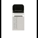 Transcend JetFlash 880 OTG 32GB 32GB USB 3.0/Micro-USB Black,Silver USB flash drive
