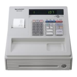 Sharp XE-A107WH cash register