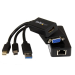 "StarTech.com Microsoft® Surfaceâ""¢ Pro 3 HDMI VGA and Gigabit Ethernet Adapter Bundle "" MDP to HDMI / VGA "" USB 3.0 to GbE"