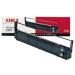 OKI 09002308 cinta para impresora Negro
