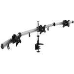 Vision Mounts Three Monitor Desk Mount