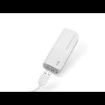 SBS TEBB2200W Litio 2200mAh Blanco batería externa