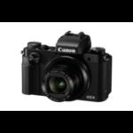 "Canon PowerShot G5 X 1"" Compact camera 20.2 MP CMOS 5472 x 3648 pixels Black"