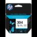 HP 304 Original Cian, Magenta, Amarillo