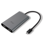 i-tec THUNDERBOLT 3 Dual Display Port Video Adapter