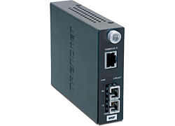 Trendnet TFC-1000MSC convertidor de medio 2000 Mbit/s 1310 nm Multimodo Gris