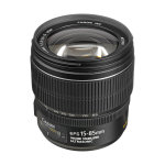 Canon EF-S 15-85mm f/3.5-5.6 IS USM SLR Standard zoom lens Black