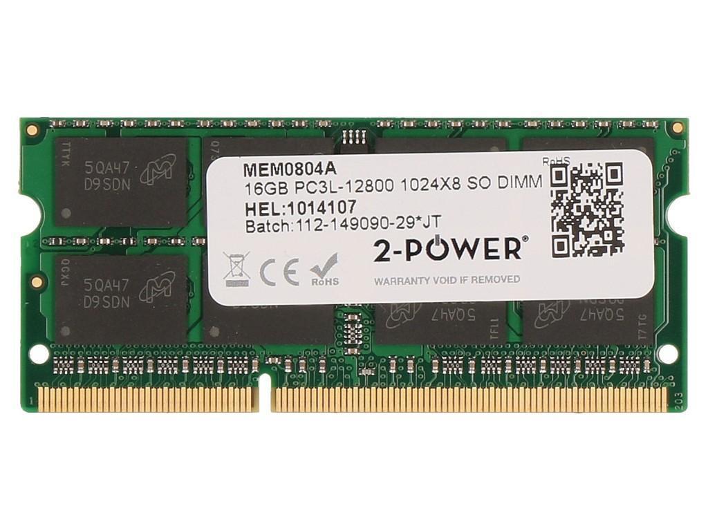 2 Power 16gb Ddr3l 1600mhz Sodimm Memory Replaces 4x70j32868