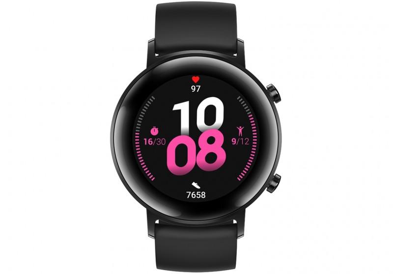 Huawei WATCH GT 2 smartwatch Black AMOLED 3.05 cm 1.2