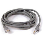 Belkin 15m RJ-45 CAT-5e 15m Grey networking cable