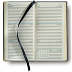 Collins Classic Slim Week Diaries 2013 Paper Black personal organizer