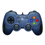 Logitech F310 Gamepad PC Black,Blue,Multicolour