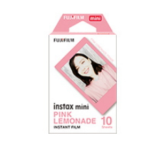 Fujifilm Instax Mini Pink Lemonade instant picture film 54 x 86 mm 10 pc(s)