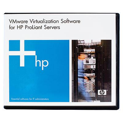 Hewlett Packard Enterprise VMware vSphere Standard 1 Processor 3yr E-LTU/Promo virtualization software