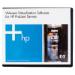 Hewlett Packard Enterprise VMware vSphere Standard 1 Processor 3yr E-LTU/Promo