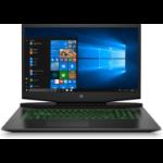 "HP Pavilion Gaming 17-cd0033na Black Notebook 43.9 cm (17.3"") 1920 x 1080 pixels 9th gen Intel® Core™ i7 i7-9750H 8 GB DDR4-SDRAM 1512 GB HDD+SSD"