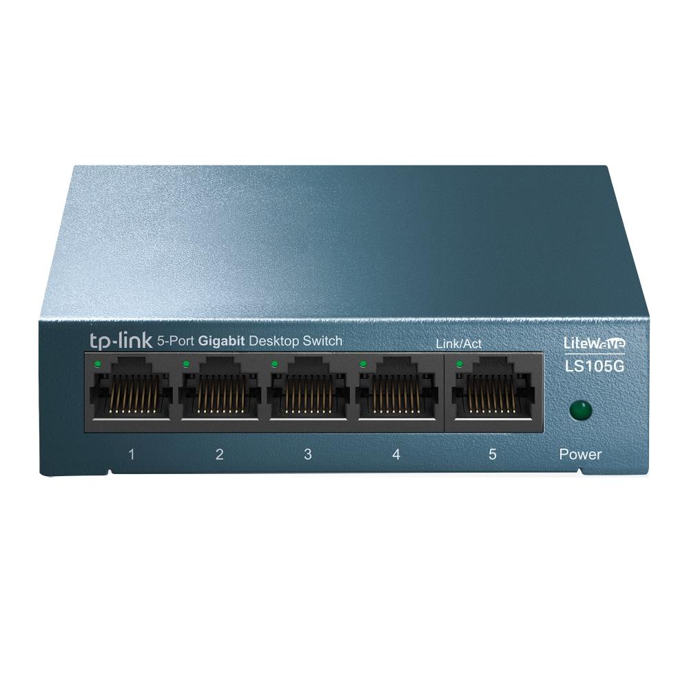 TP-LINK LS105G No administrado Gigabit Ethernet (10/100/1000) Azul