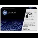 HP 80A Origineel Zwart 1 stuk(s)