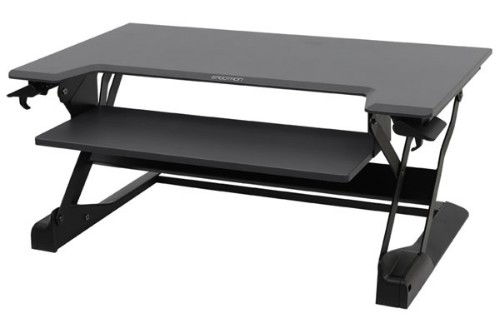 Ergotron WorkFit-TL Black computer desk