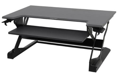 Ergotron WorkFit-TL computer desk Black