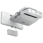 Epson BrightLink 695Wi data projector Wall-mounted projector 3500 ANSI lumens 3LCD WXGA (1280x800) Gray, White