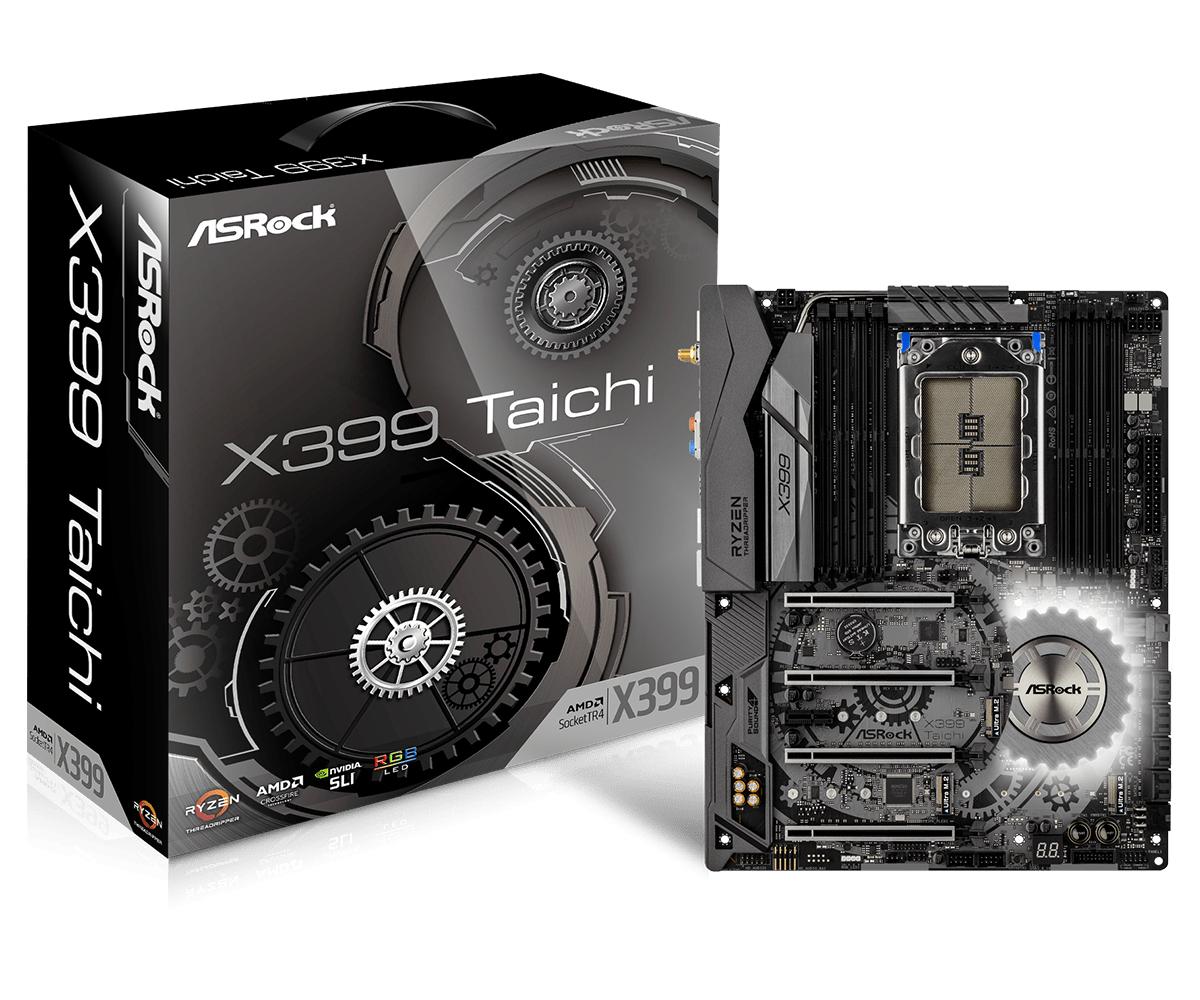Asrock X399 Taichi ATX motherboard