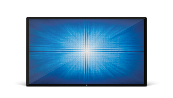 "Elo Touch Solution 6553L 163,8 cm (64.5"") LED 4K Ultra HD Pantalla táctil Panel plano interactivo Negro"