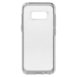 OtterBox Symmetry Clear mobile phone case 14,7 cm (5.8 Zoll) Deckel Silber, Transparent