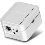 Trendnet N300 300Mbit/s Ethernet LAN Wi-Fi White 1pc(s) PowerLine network adapter